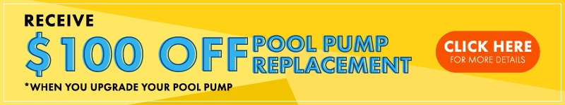 AO Pools $100 Off Pump Replacement