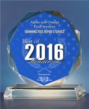 2016 Best of Henderson Awards for Swimming Pool Repair & Service.