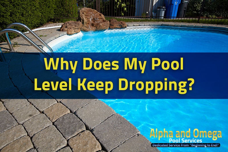 Why Does My Pool Level Keep Dropping?