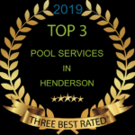 2019 Top 3 Pool Services In Henderson NV award